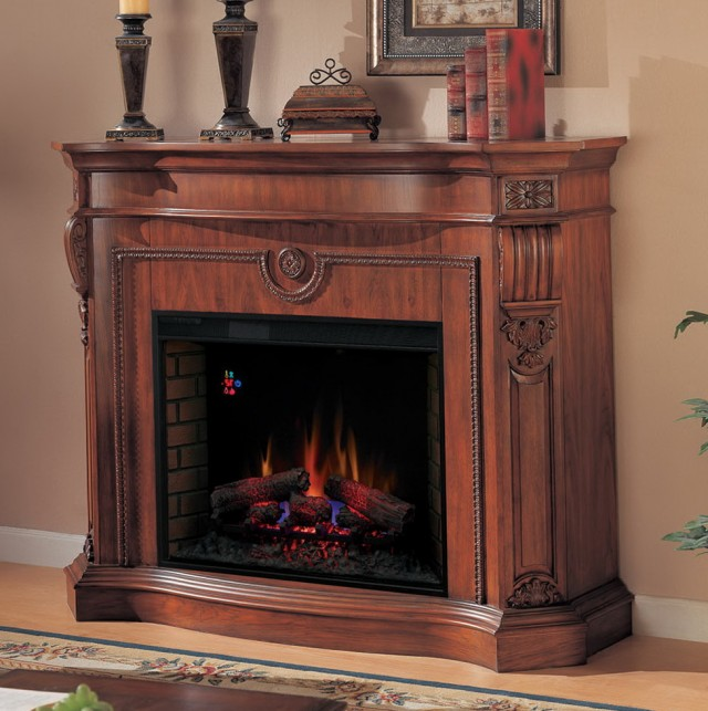 Big Electric Fireplace Mantels