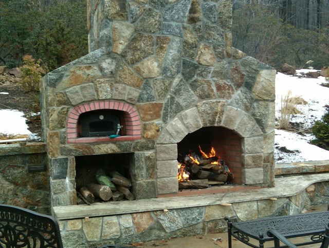 Building Outdoor Fireplace Plans