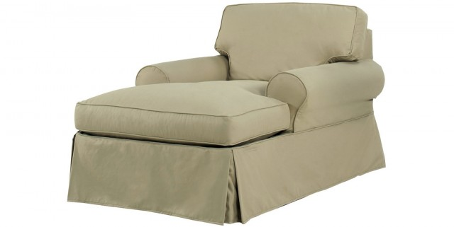 Chaise Lounge Couch Slipcover