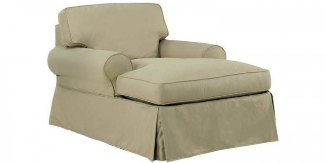 Chaise Lounge Slipcover Indoor