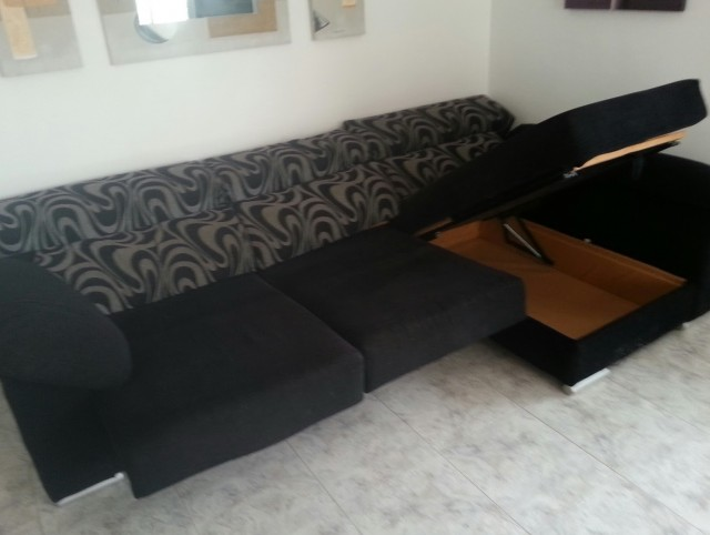 Chaise Lounge Sofa Bed With Storage