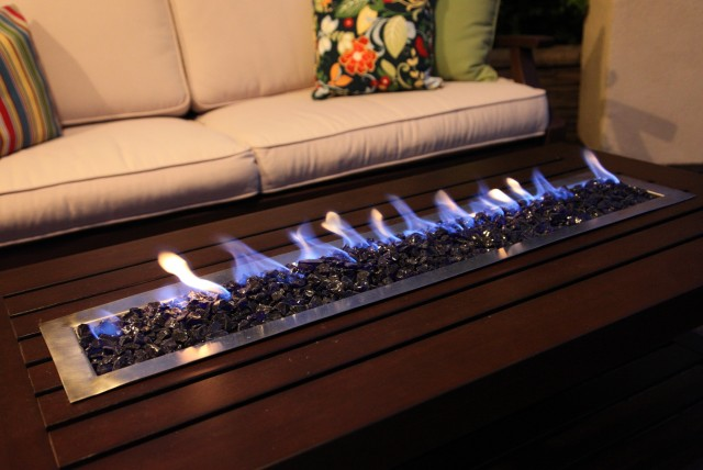 Coffee Table Fireplace Indoor