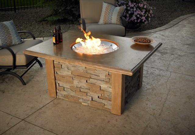 Coffee Table Fireplace Outdoor