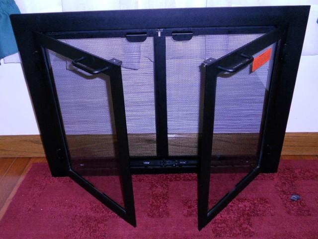 Custom Fireplace Safety Screens