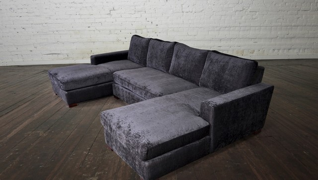 Double Chaise Sofa Lounge