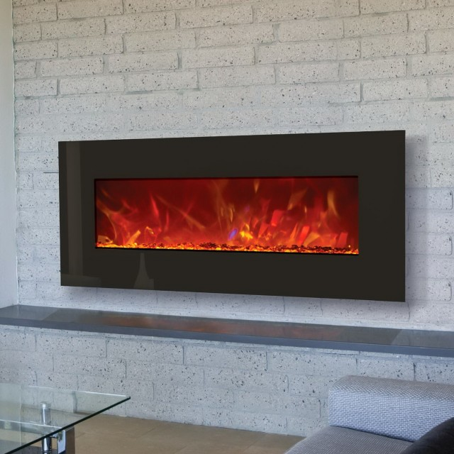 Electric Fireplace Built Into Wall