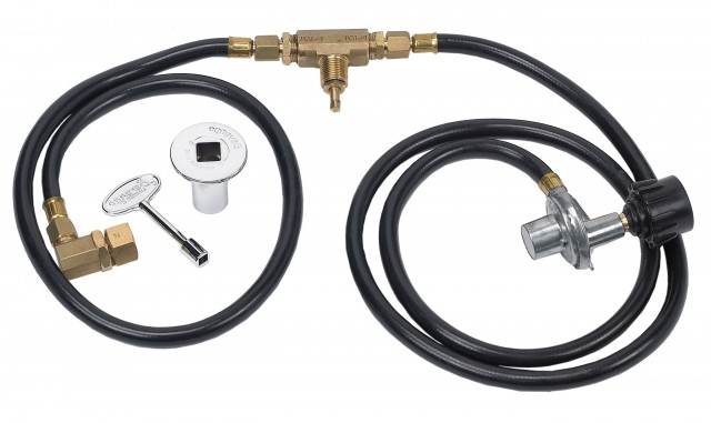 Fireplace Gas Valve Flange Extension