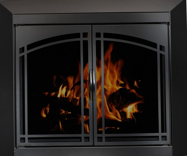 Fireplace Glass Screens And Doors