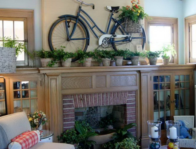 Fireplace Mantel Decorating Ideas For Summer