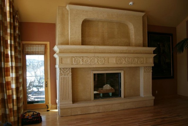 Fireplace Stone Surround Kits