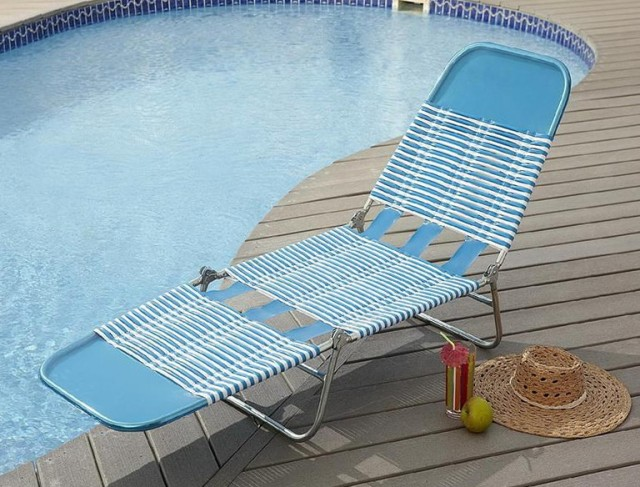 Folding Chaise Lounge Chair Walmart
