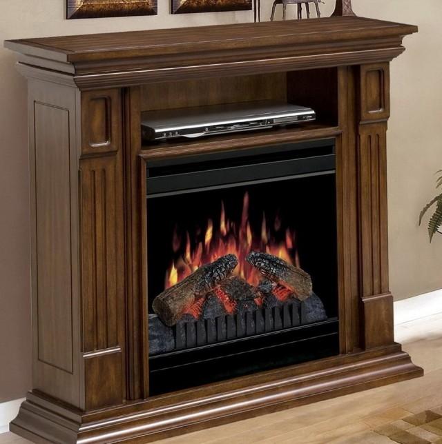 Hampton Bay Corner Electric Fireplace
