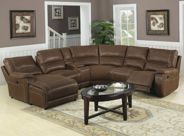 Leather Sectional Sofa With Chaise And Recliner