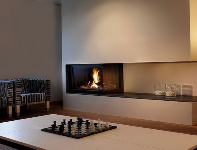 Modern Gas Fireplace Designs Gallery