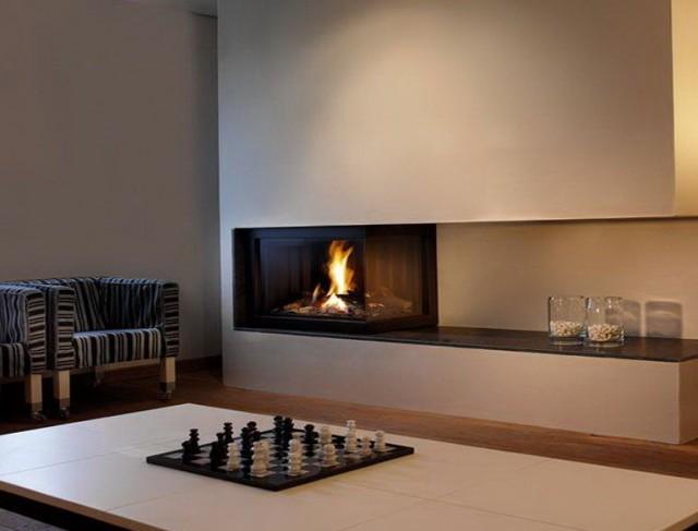 Modern Gas Fireplace Designs Gallery