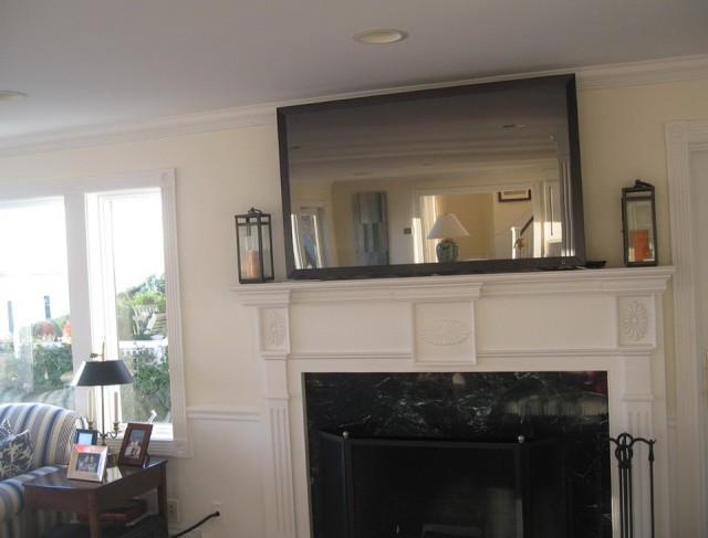 Mounting A Tv Over A Fireplace In An Apartment