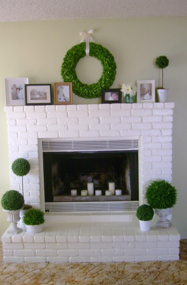 Redoing A Fireplace Before And After Pictures