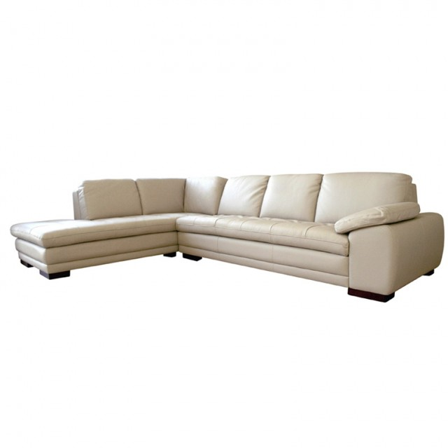 Sectional Leather Sofa With Chaise
