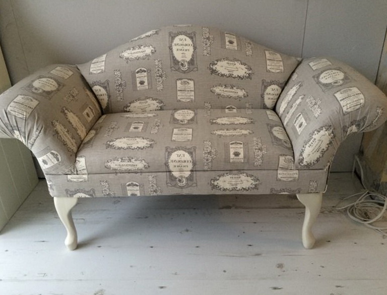 Shabby Chic Chaise Lounge For Sale