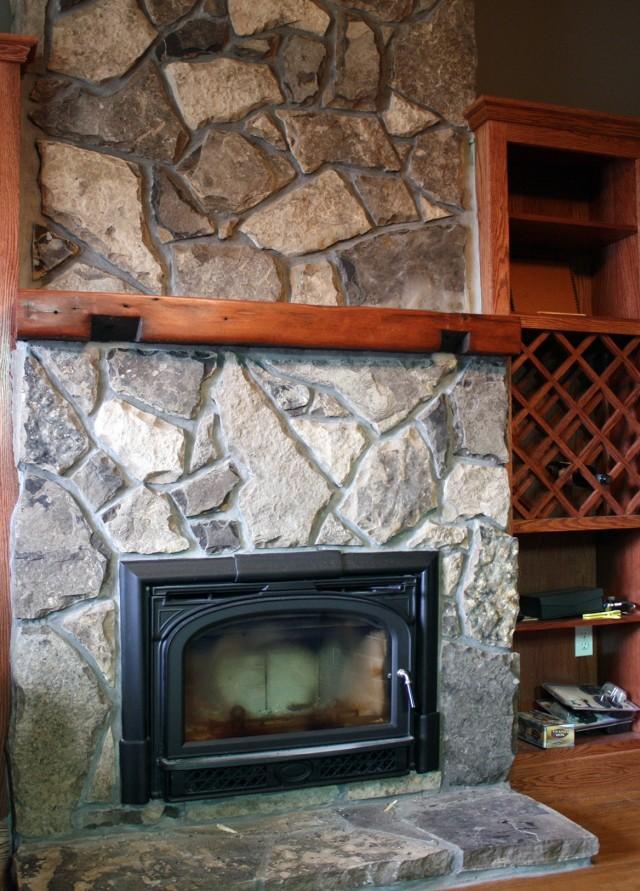 Stone Fireplace Ideas Houzz