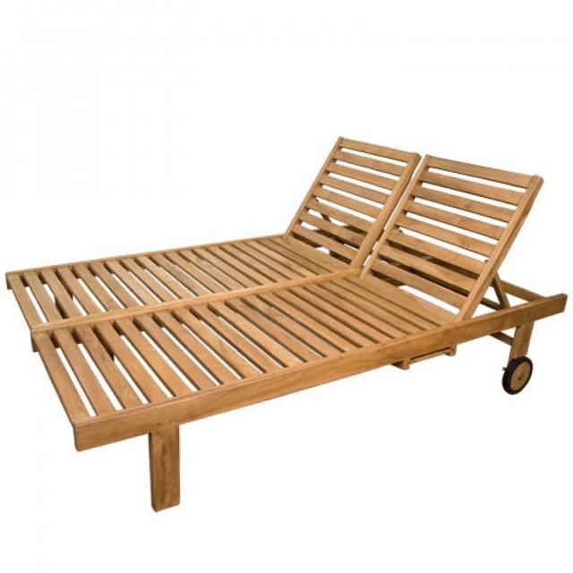 Teak Chaise Lounge Chairs