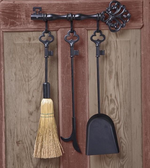 Vintage Fireplace Tools Key
