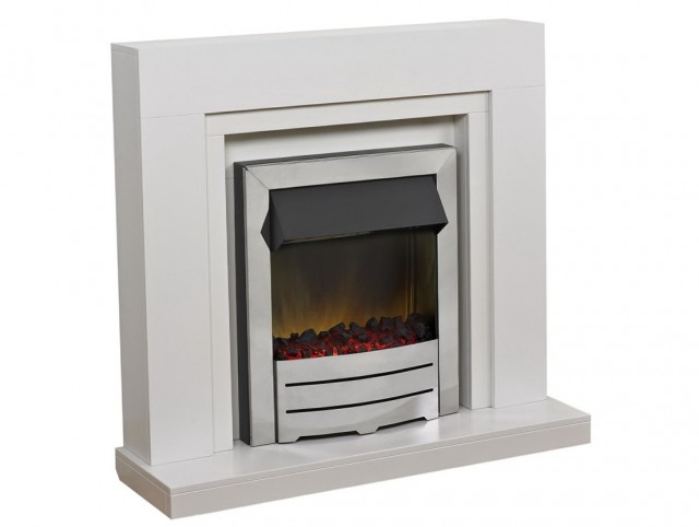 White Electric Fireplaces On Sale