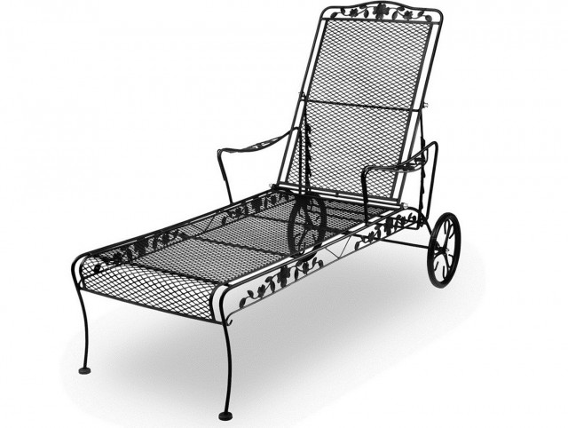 Wrought Iron Chaise Lounge Replacement Wheels