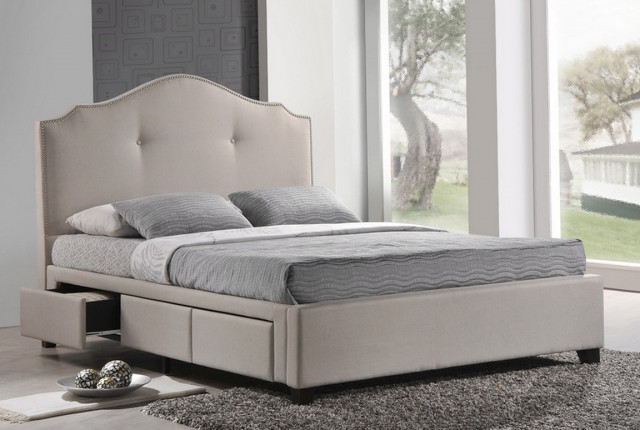 Beds Without Headboards Decorating