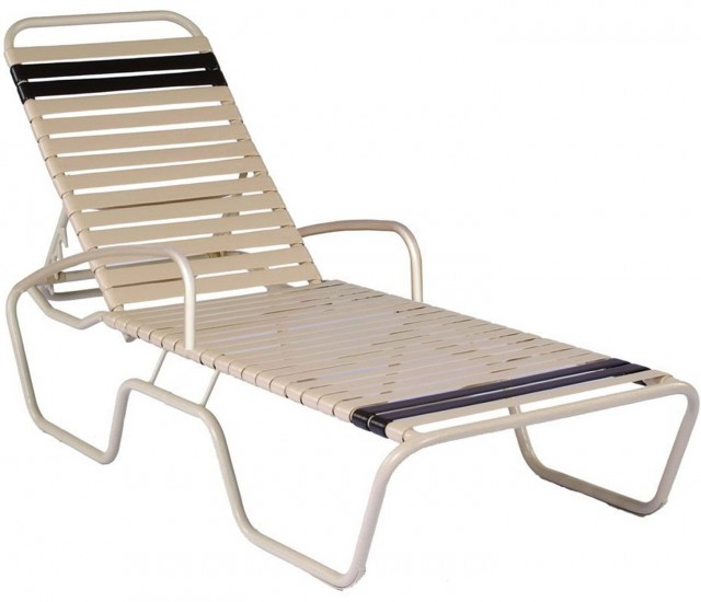 Chaise Lounge With Arms Outdoor
