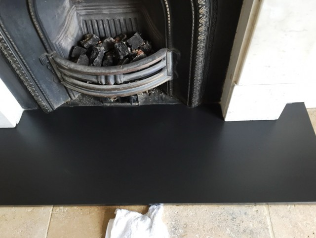 Cleaning A Fireplace Hearth