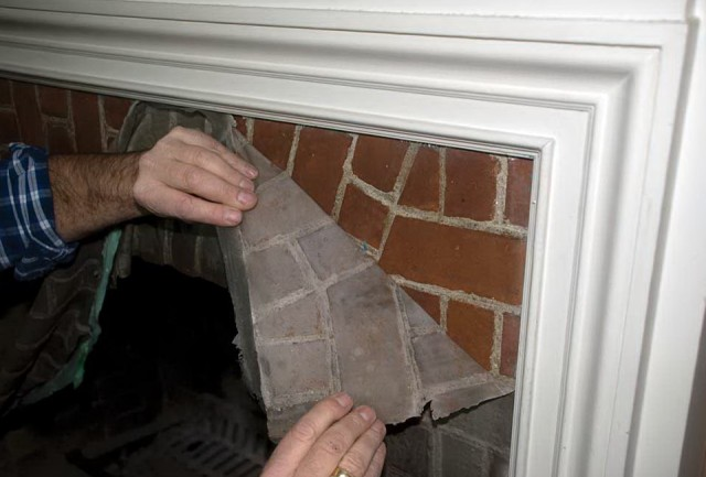 Cleaning Brick Fireplace Before Painting