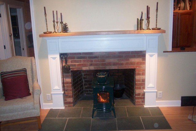 Cleaning Brick Fireplace Surround