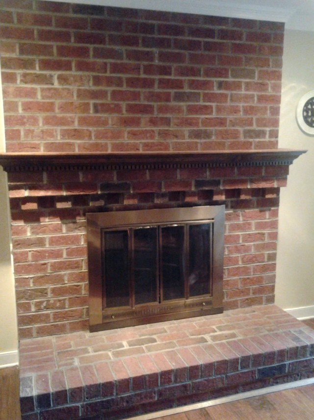Cleaning Brick Fireplace With Tsp