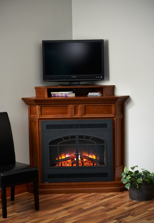 Corner Fireplace Tv Stand Cabinet