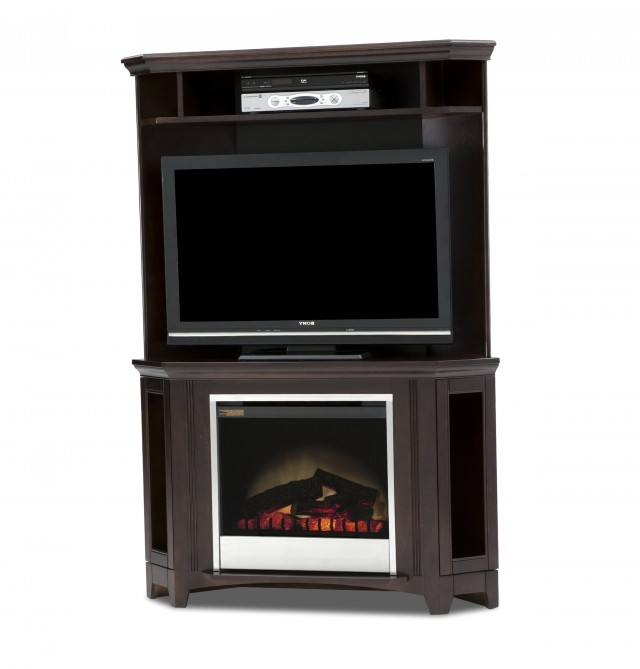 Corner Fireplace Tv Stand Canada