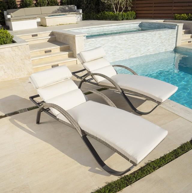 Cream Chaise Lounge Cushion