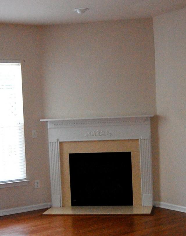 Diy Corner Gas Fireplace