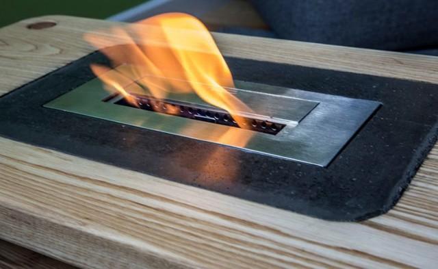 Diy Fireplace Coffee Table
