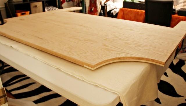 Diy Wood And Fabric Headboard