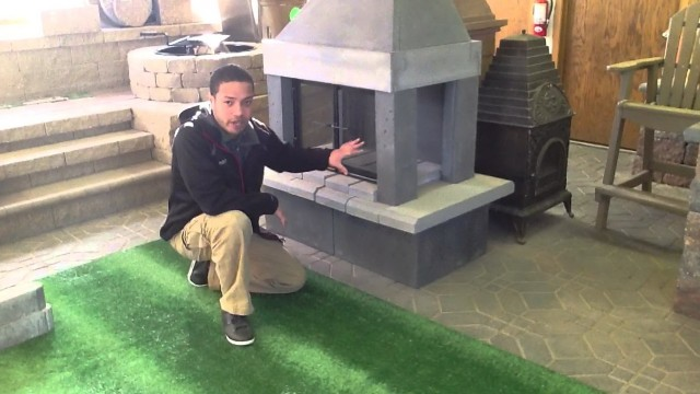 Do It Yourself Outdoor Fireplace Kits