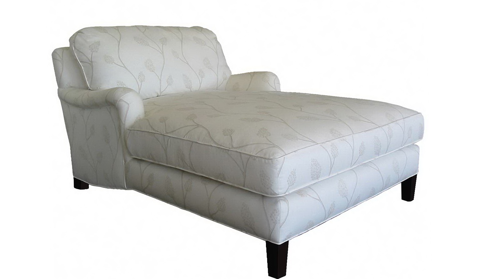 Double Arm Chaise Lounge Chair