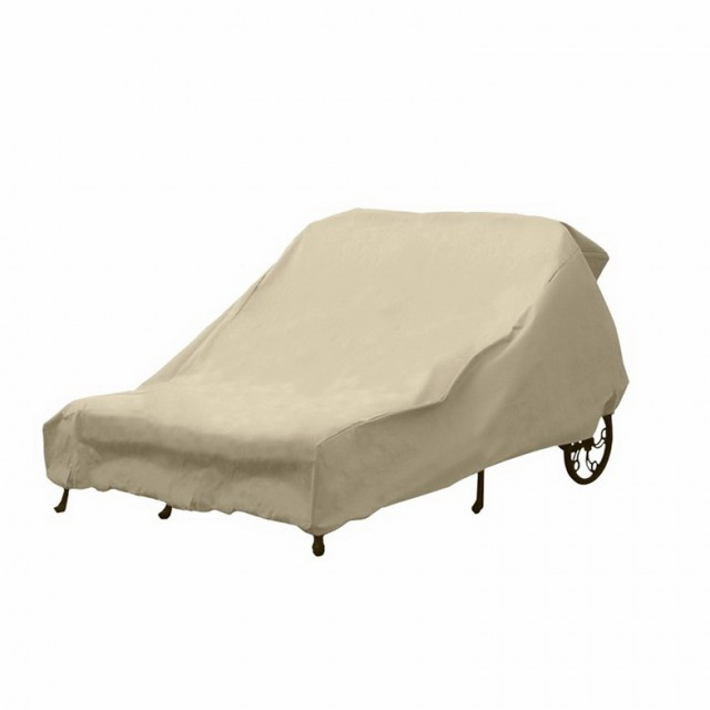 Double Chaise Lounge Cushion Cover