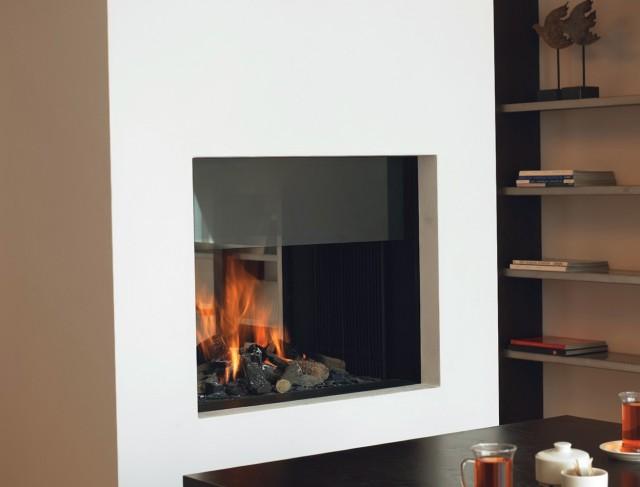 Double Sided Fireplace Uk