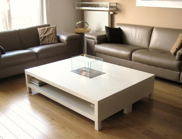 Ethanol Fireplace Coffee Table