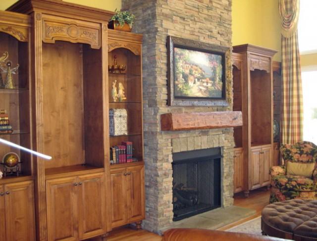Flat Screen Fireplace Designs