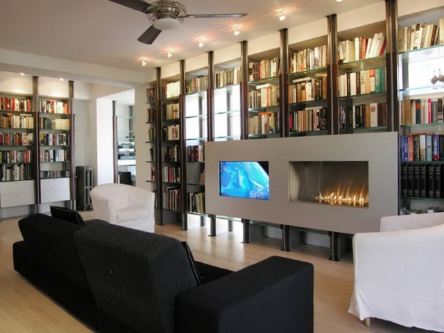 Flat Wall Gas Fireplace