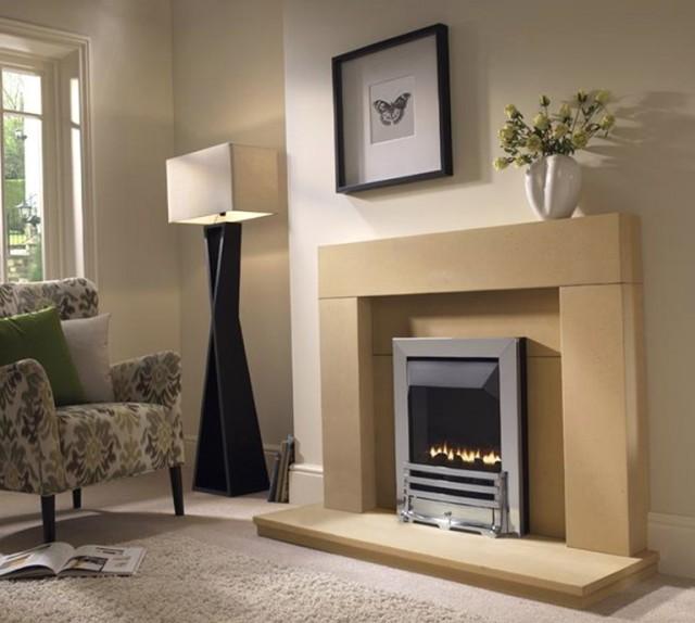 Gas Fireplace Stone Surrounds