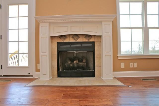 Gas Log Fireplace Surrounds