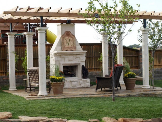 Gazebo Plans With Fireplace Download